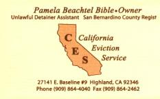 California Eviction Service
